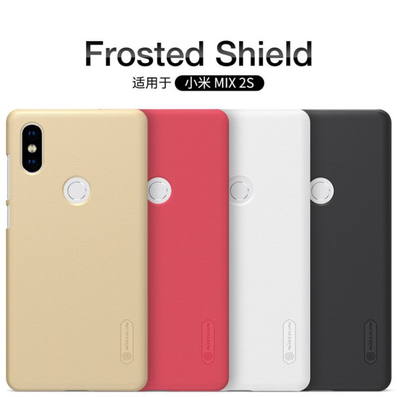 Nillkin Super Frosted Shield Matte cover case for Xiaomi Mi MIX 2S + free screen protector order from official NILLKIN store