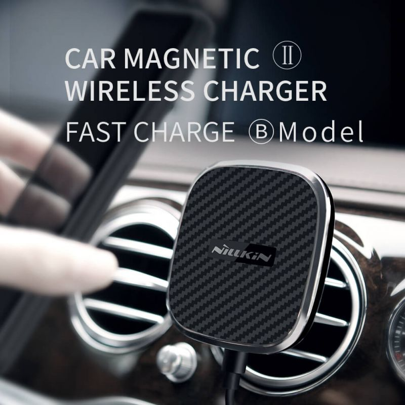 NILLKIN Car Magnetic QI Wireless Charger II (model B) (FAST Charge) order from official NILLKIN store