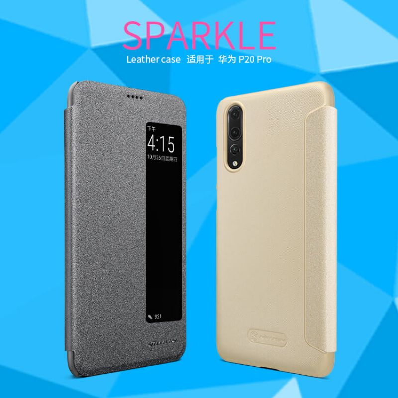 Nillkin Sparkle Series New Leather case for Huawei P20 Pro order from official NILLKIN store