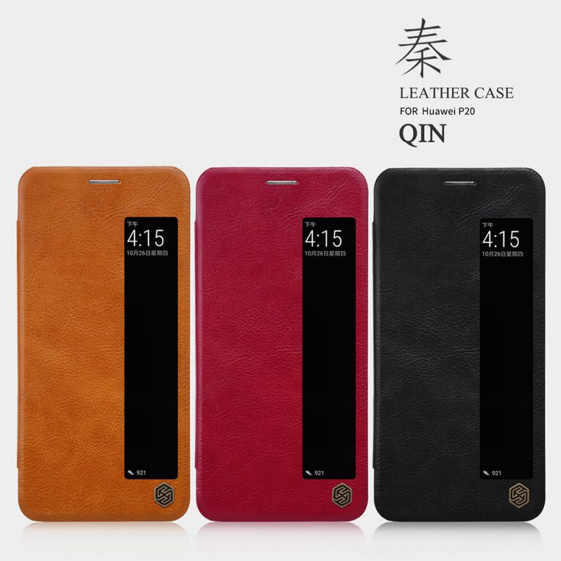 Nillkin Qin Series Leather case for Huawei P20 order from official NILLKIN store