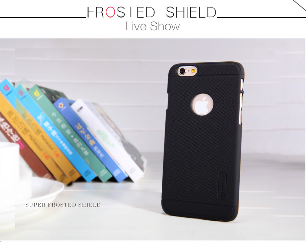 Nillkin Super Frosted Shield Matte cover case for Apple iPhone 6 / 6S + free screen protector
