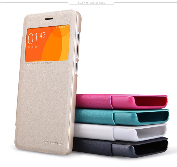 Nillkin Sparkle Series New Leather case for Xiaomi Redmi 2