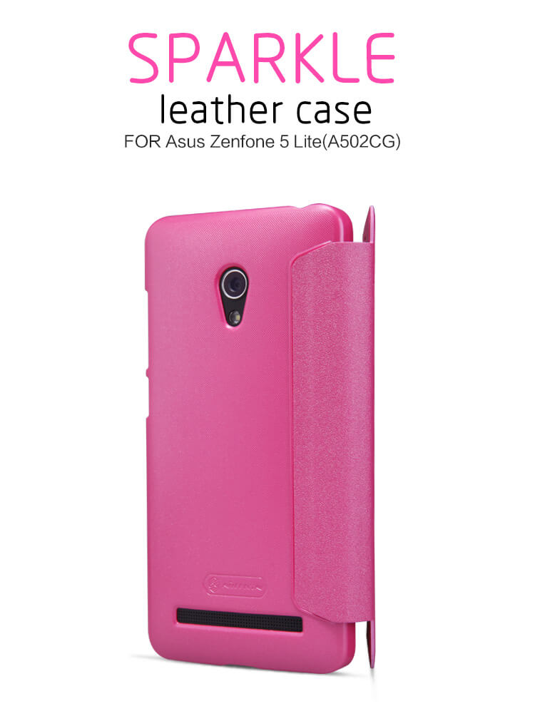 Nillkin Sparkle Series New Leather case for ASUS ZenFone 5 Lite (A502CG)
