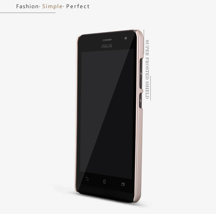 Nillkin Super Frosted Shield Matte cover case for ASUS ZenFone 5 Lite (A502CG) + free screen protector