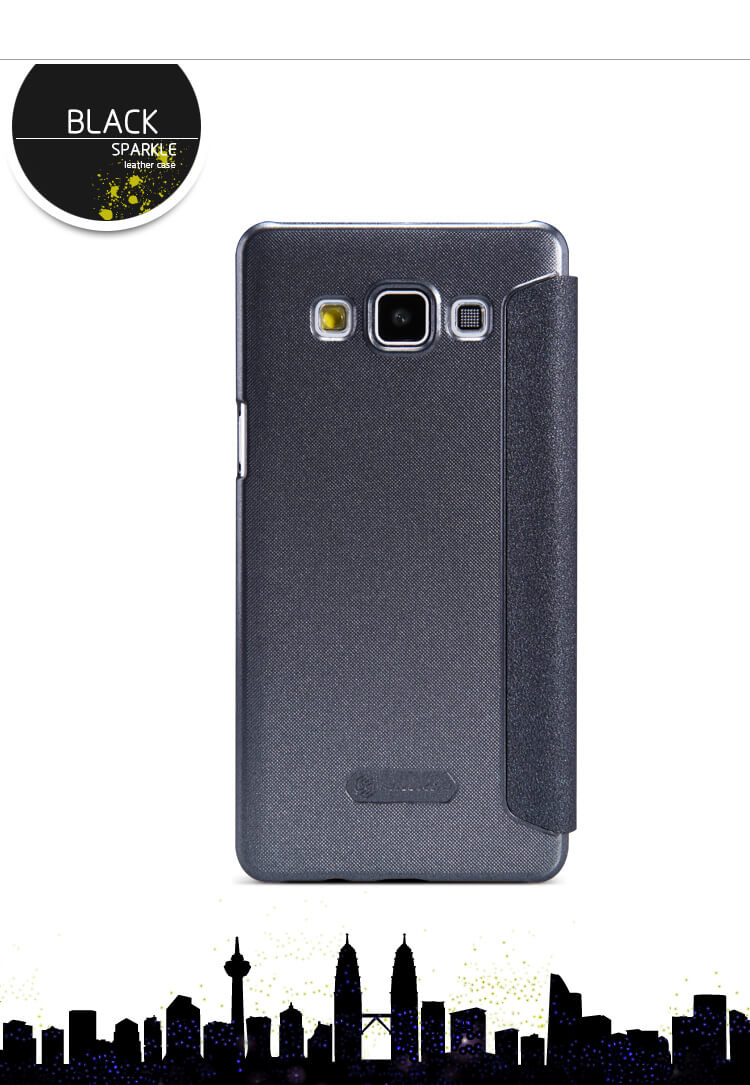 Nillkin Sparkle Series New Leather case for Samsung Galaxy A5 (A5000 A500H A500F)