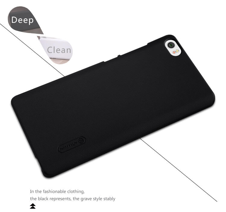 Nillkin Super Frosted Shield Matte cover case for Xiaomi Note (Hongmi Mi Note) + free screen protector