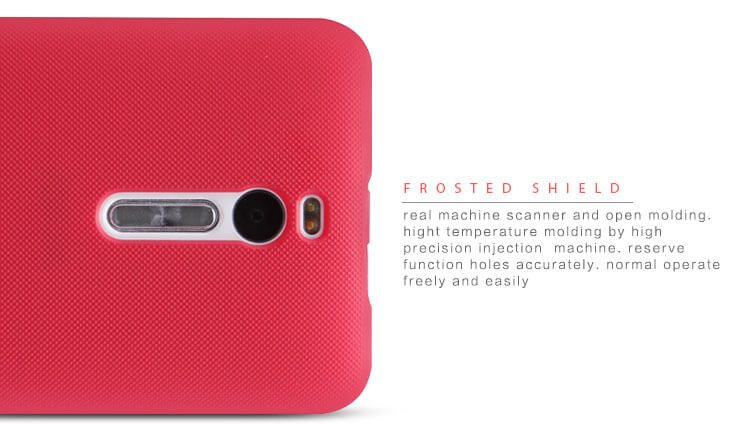 Nillkin Super Frosted Shield Matte cover case for ASUS ZenFone 2 5.5 (ZE550ML ZE551ML) + free screen protector