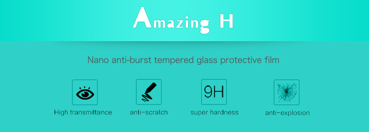 Nillkin Amazing H tempered glass screen protector for ASUS Zenfone 2 Laser (ZE550KL)