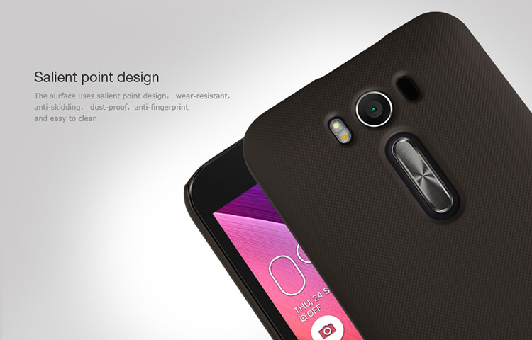 Nillkin Super Frosted Shield Matte cover case for ASUS ZenFone 2 Laser 5.0 (ZE500KL ZE500KG) + free screen protector