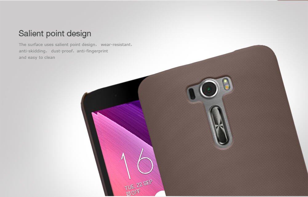 Nillkin Super Frosted Shield Matte cover case for Asus Zenfone 2 Laser (ZE601KL) + free screen protector