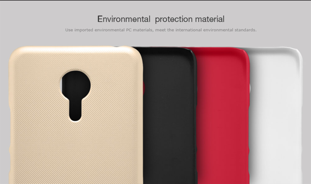 Nillkin Super Frosted Shield Matte cover case for Meizu Pro 5 (MX Supreme M578CE M576 M576U) + free screen protector