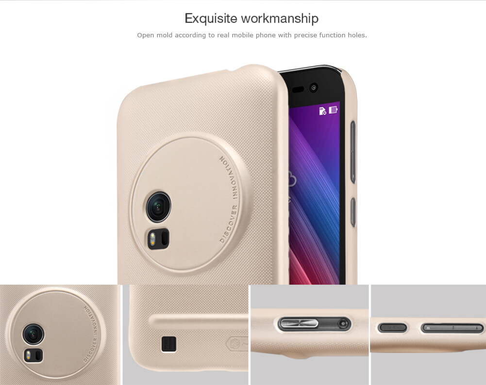 Nillkin Super Frosted Shield Matte cover case for Asus Zenfone Zoom ZX551ML + free screen protector