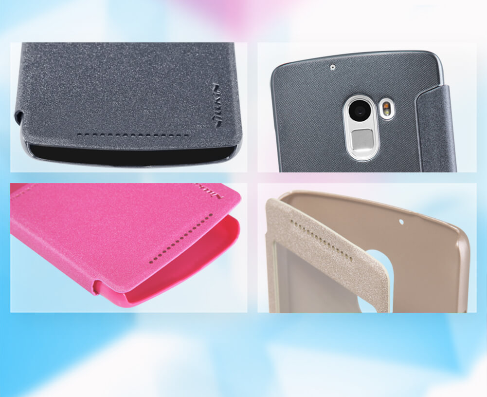 Nillkin Sparkle Series New Leather case for Lenovo Vibe X3 Lite (K4 Note)