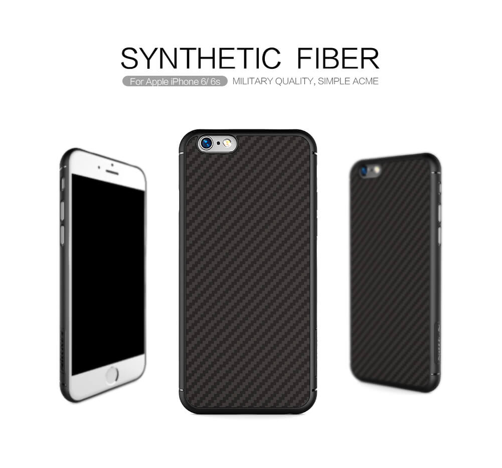 Nillkin Synthetic fiber Series protective case for Apple iPhone 6 / 6S