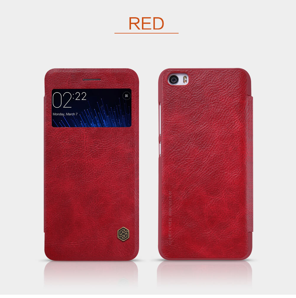 Nillkin Qin Series Leather case for Xiaomi Mi5