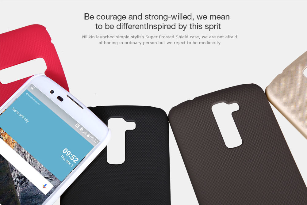 Nillkin Super Frosted Shield Matte cover case for LG K10