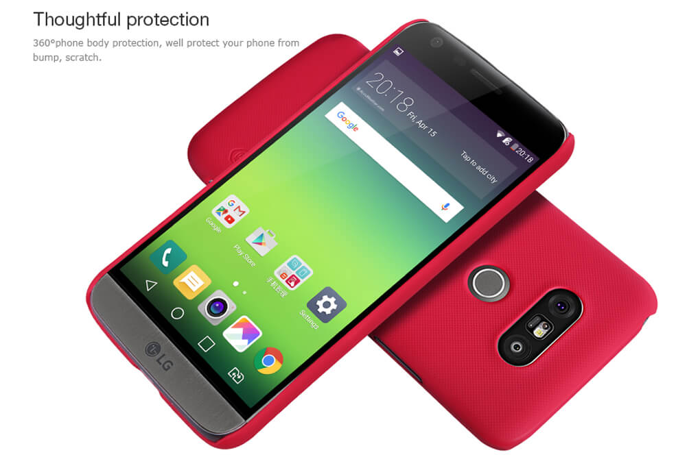 Nillkin Super Frosted Shield Matte cover case for LG G5/LG H830 (5.3)