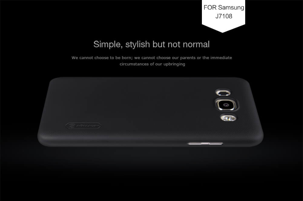 Nillkin Super Frosted Shield Matte cover case for Samsung Galaxy J7108/Galaxy J7(2016) (5.5inch) + free screen protector