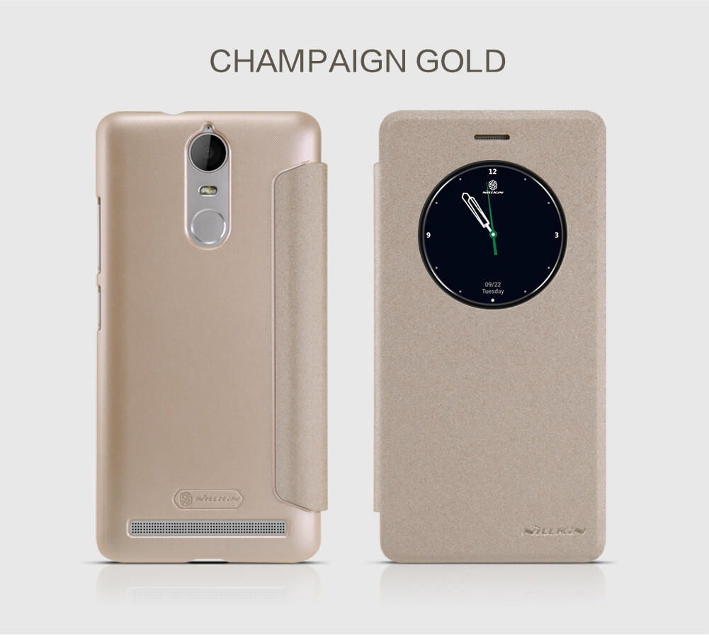 Nillkin Sparkle Series New Leather case for Lenovo K5 Note