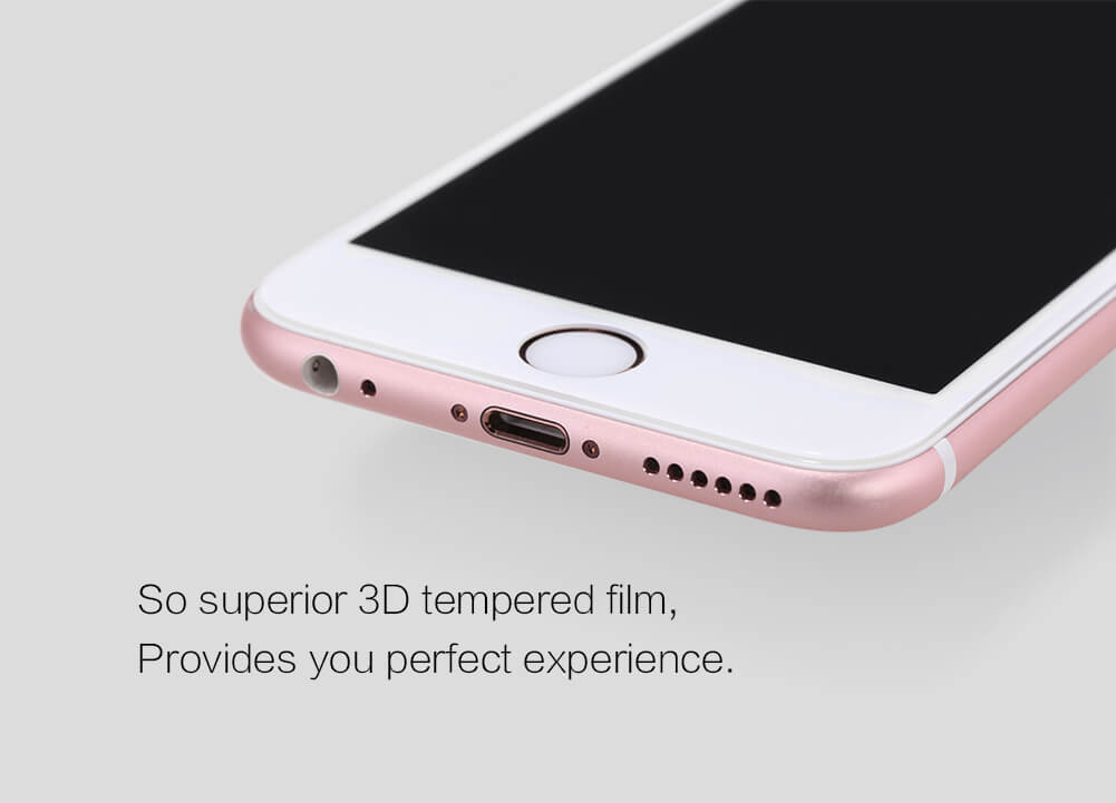 Nillkin Amazing 3D CP+ Max tempered glass screen protector for Apple iPhone 6 / 6S