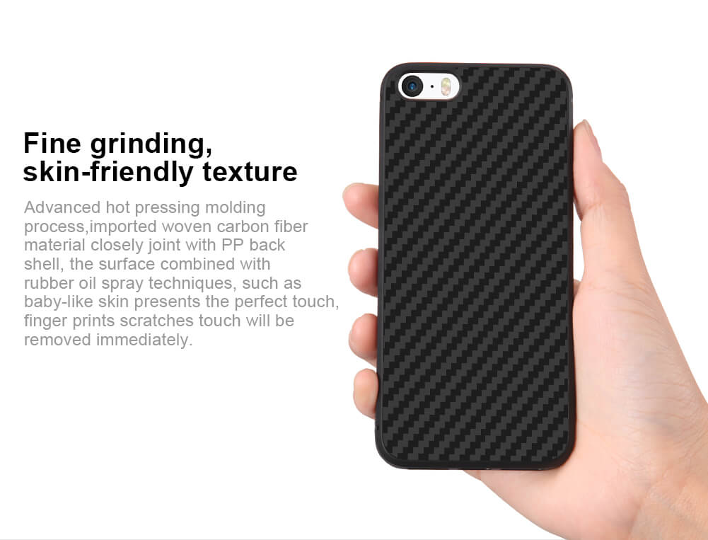 Nillkin Synthetic fiber Series protective case for Apple iPhone 5 (5S, SE, 5SE)
