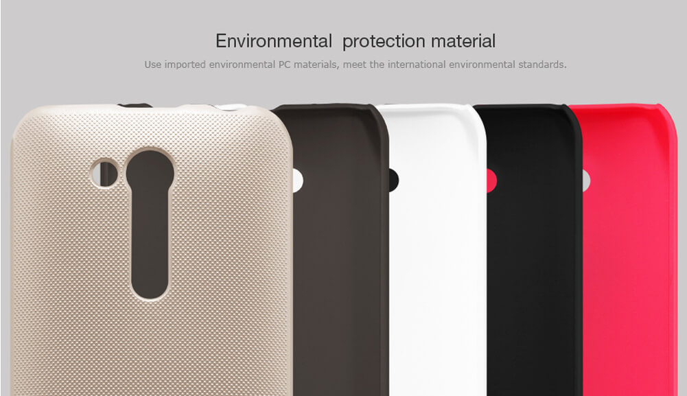 Nillkin Super Frosted Shield Matte cover case for ASUS Zenfone Go (ZB452KG) + free screen protector