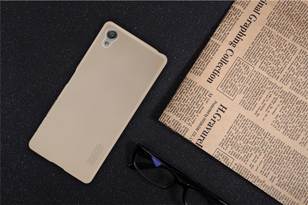 Nillkin Super Frosted Shield Matte cover case for Sony Xperia X + free screen protector
