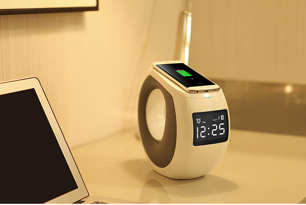 NK Enjoy COZY MC1 Bluetooth speaker (NK MC1 Nillkin sub-brand) (NFC Pair, Wireless charger)