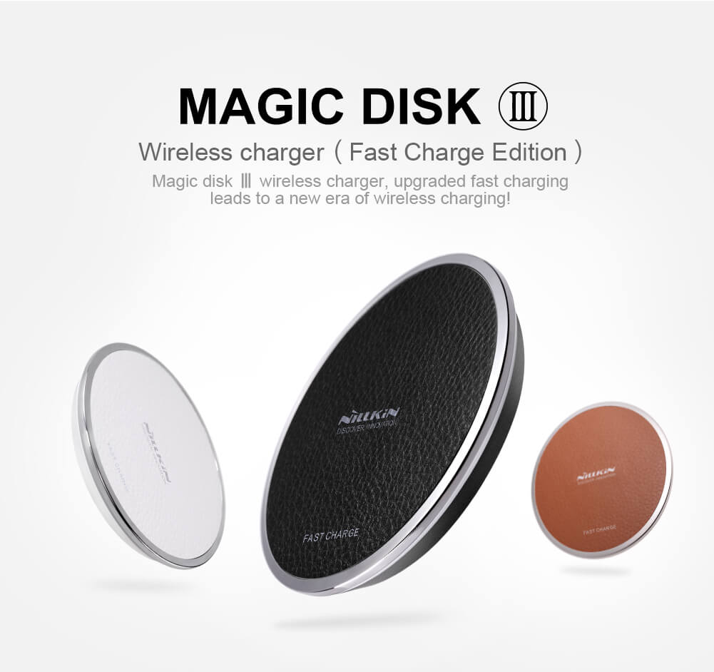 Nillkin Qi Wireless Charger Magic Disk III (Fast Charge Edition)