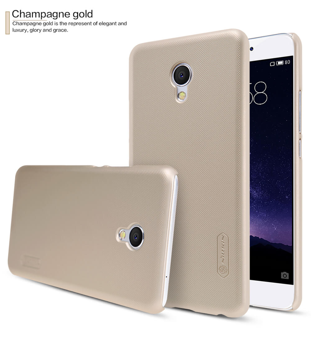 Nillkin Super Frosted Shield Matte cover case for Meizu MX6 + free screen protector