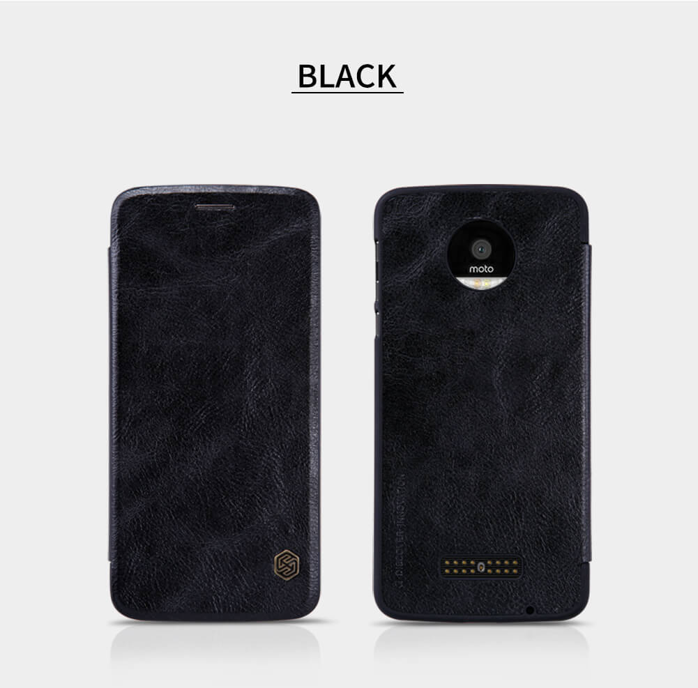 Nillkin Qin Series Leather case for Motorola Moto Z