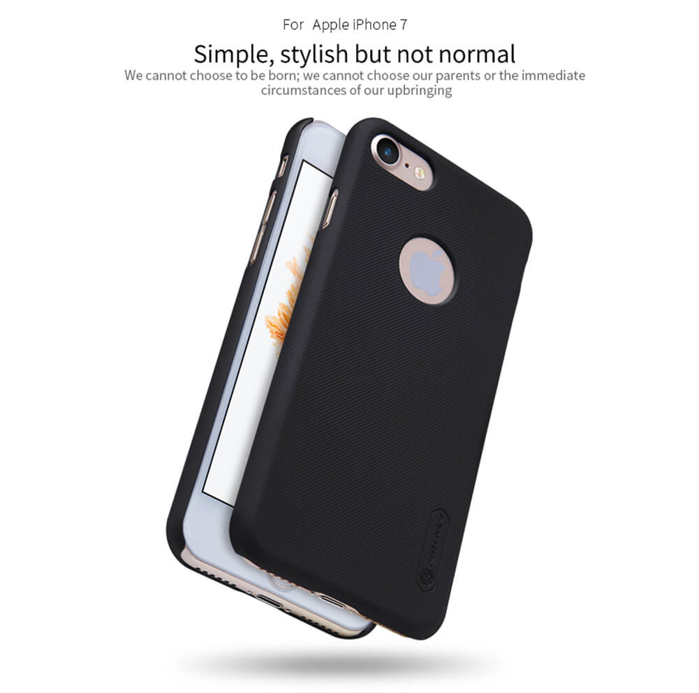 Nillkin Super Frosted Shield Matte cover case for Apple iPhone 7 + free screen protector