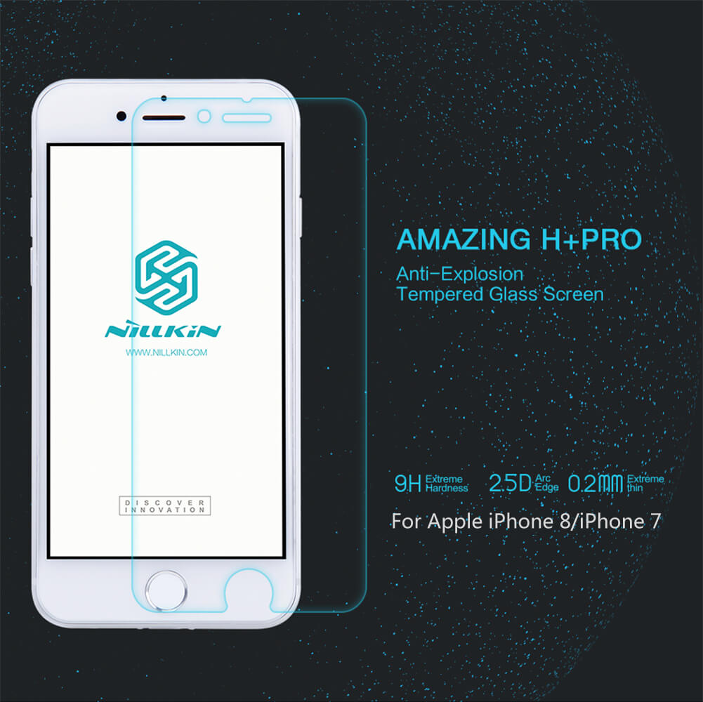 Nillkin Amazing H+ Pro tempered glass screen protector for Apple iPhone 7