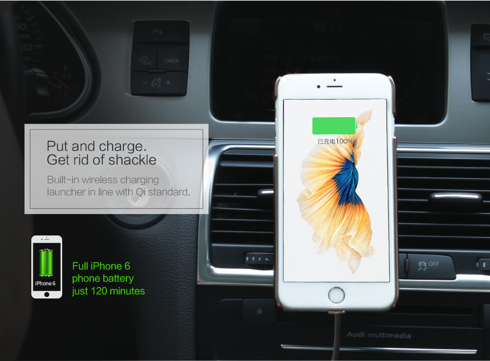 NILLKIN Car Magnetic QI Wireless Charger