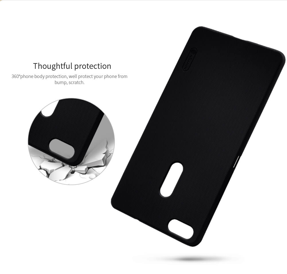 Nillkin Super Frosted Shield Matte cover case for Asus Zenfone 3 Ultra ZF3 (ZU680KL) + free screen protector