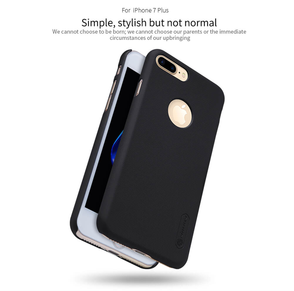 Nillkin Super Frosted Shield Matte cover case for Apple iPhone 7 Plus + free screen protector