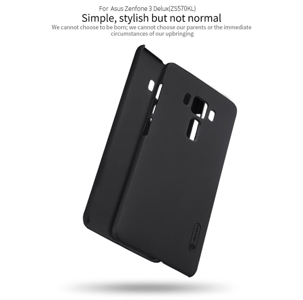 Nillkin Super Frosted Shield Matte cover case for Asus Zenfone 3 Deluxe ZF3 (ZS570KL) + free screen protector