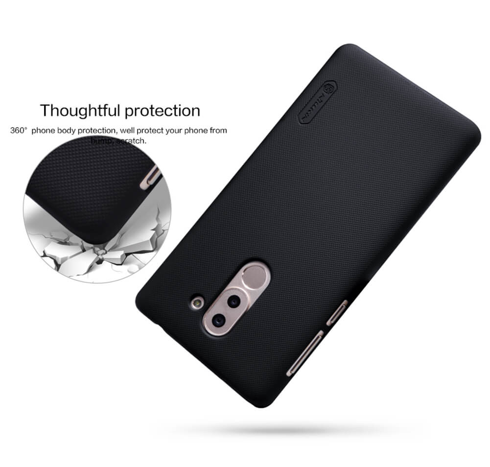 Nillkin Super Frosted Shield Matte cover case for Huawei Honor 6X + free screen protector