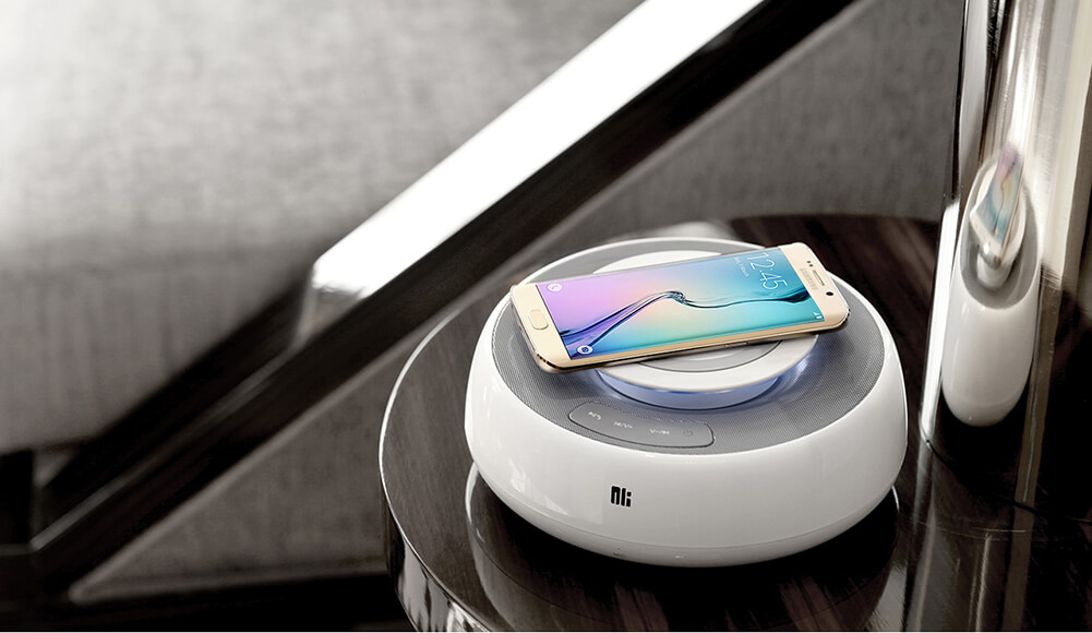 NK Enjoy COZY MC2 Bluetooth speaker (NK MC2 Nillkin sub-brand) (NFC Pair, Wireless charger)