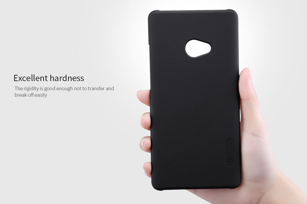 Nillkin Super Frosted Shield Matte cover case for Xiaomi Mi Note 2 + free screen protector