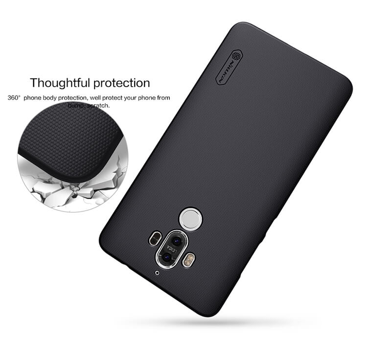 Nillkin Super Frosted Shield Matte cover case for Huawei Mate 9 + free screen protector