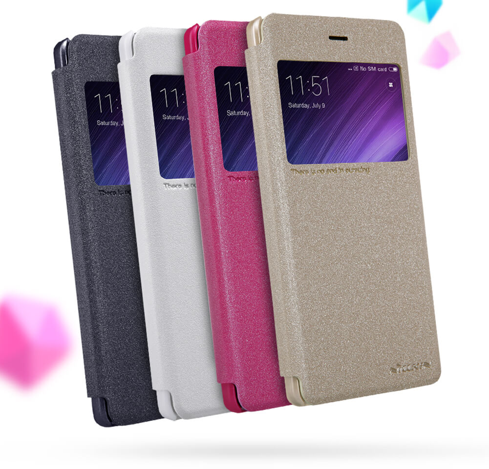 Nillkin Sparkle Series New Leather case for Xiaomi Redmi 4