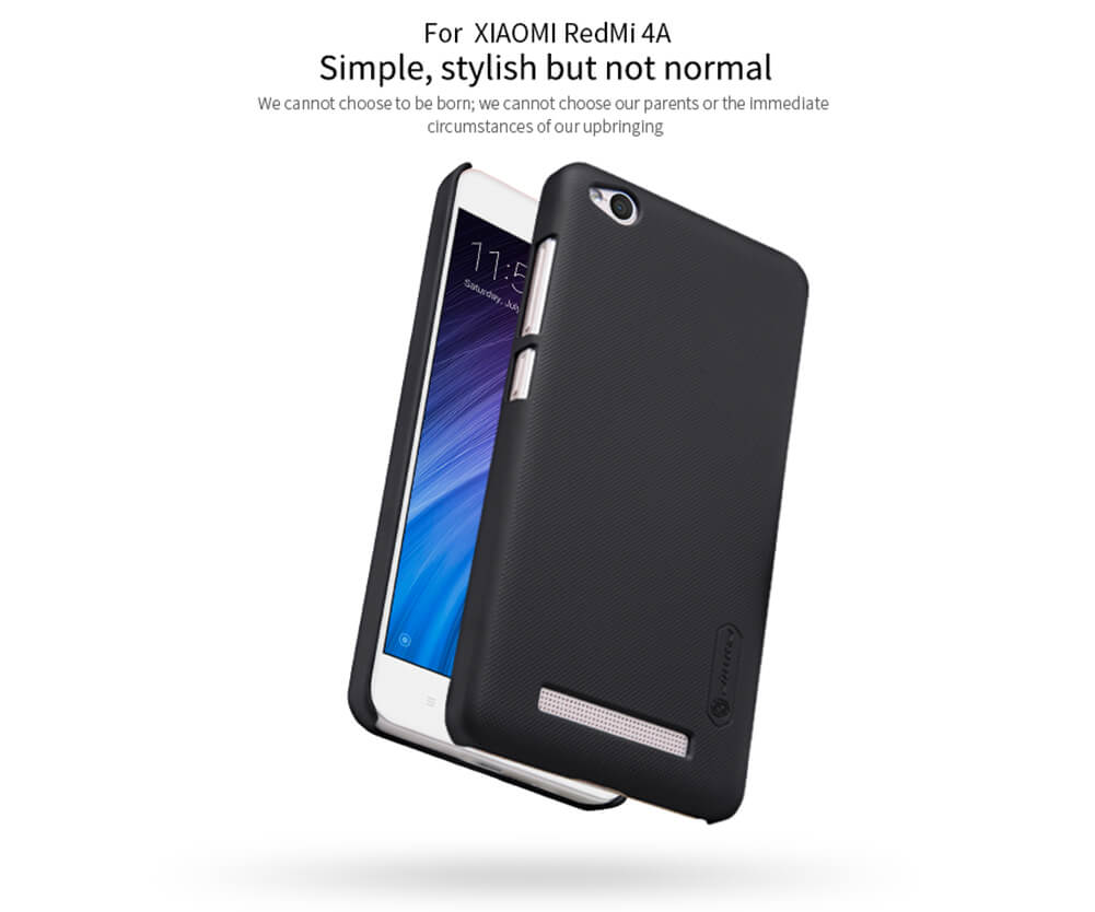 Nillkin Super Frosted Shield Matte cover case for Xiaomi Redmi 4A + free screen protector