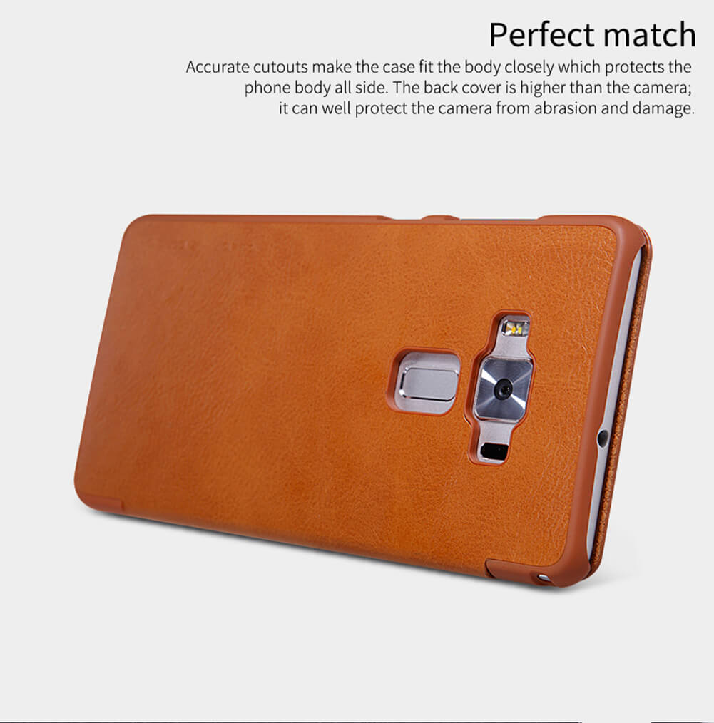 Nillkin Qin Series Leather Case For Asus Zenfone 3 Deluxe