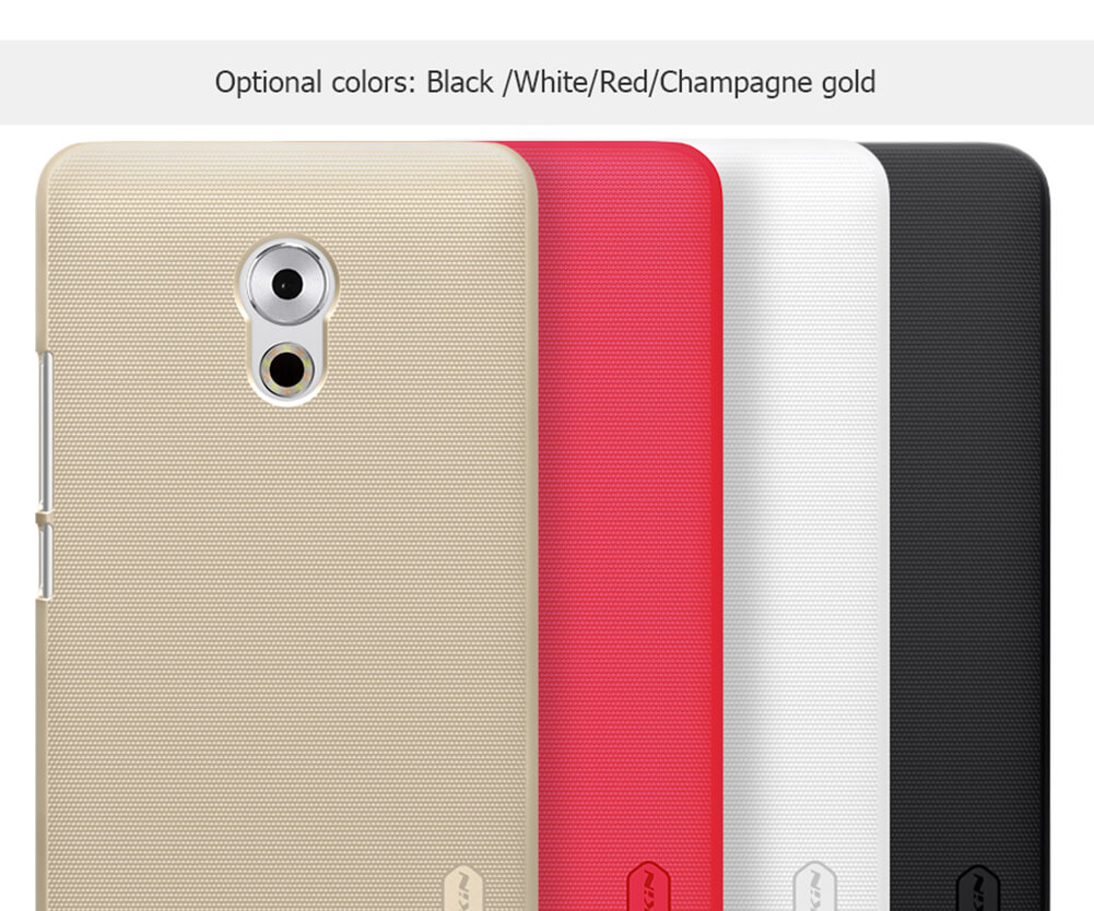 Nillkin Super Frosted Shield Matte cover case for Meizu Pro 6 Plus + free screen protector