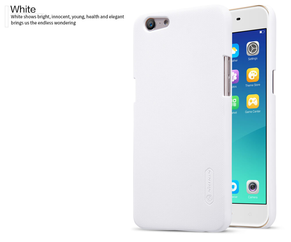 Nillkin Super Frosted Shield Matte cover case for Oppo A57 (A39) + free screen protector