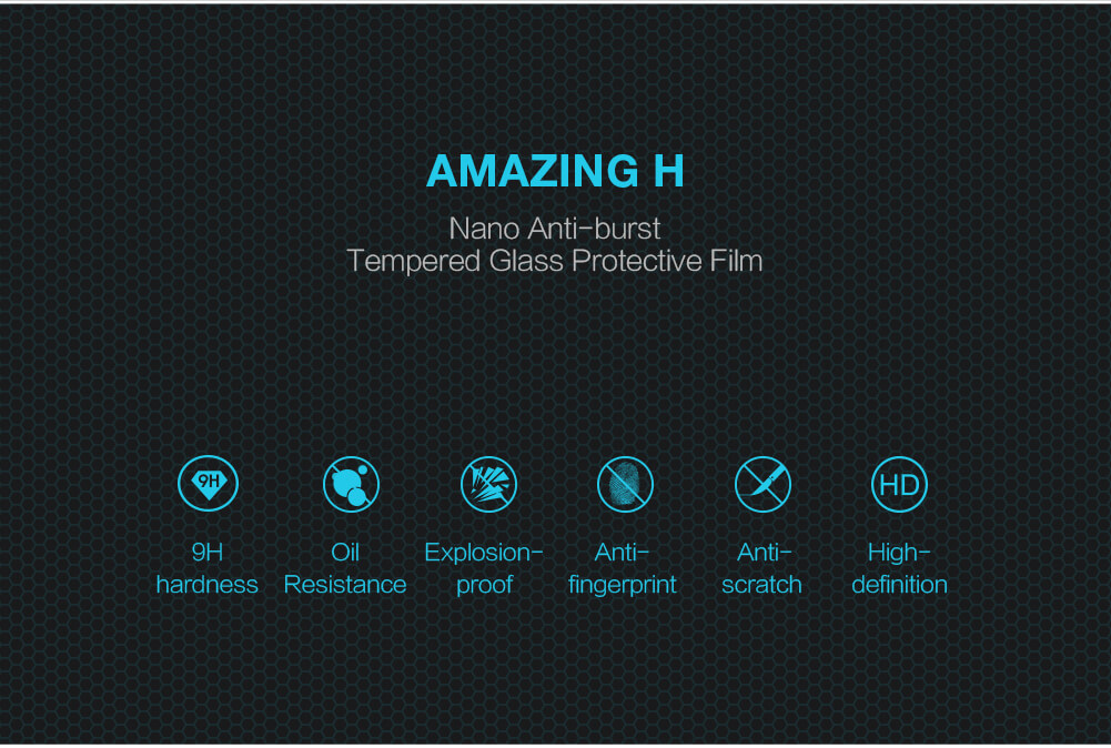 Nillkin Amazing H tempered glass screen protector for HTC U Play