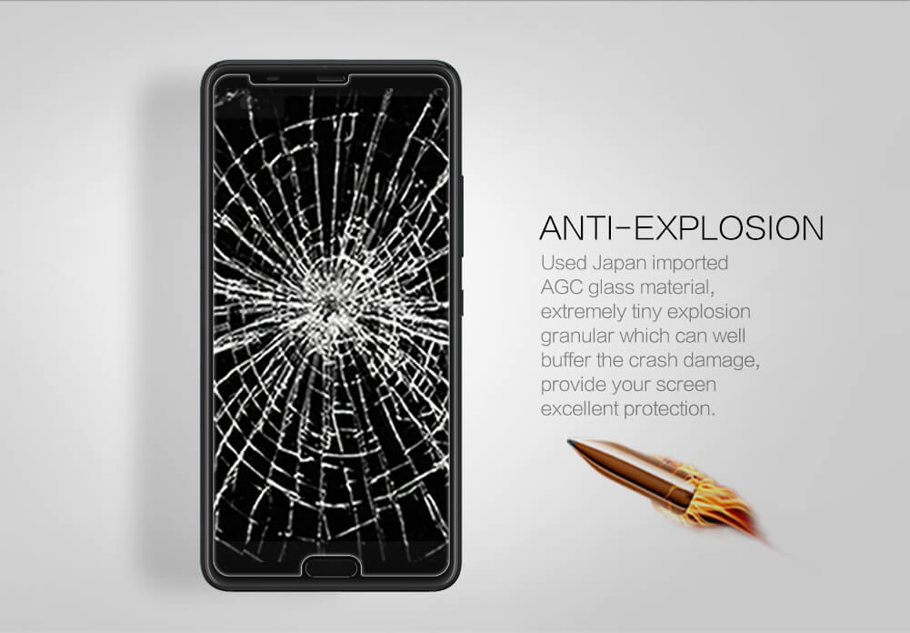 Nillkin Amazing H+ Pro tempered glass screen protector for HTC U Ultra