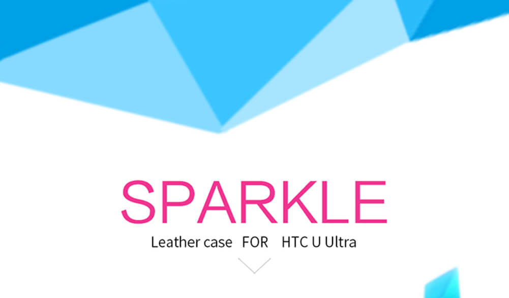 Nillkin Sparkle Series New Leather case for HTC U Ultra