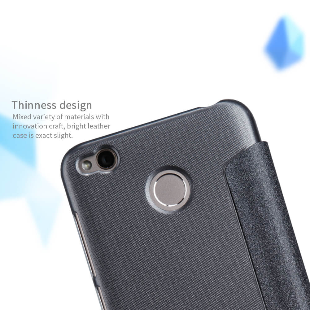 Nillkin Sparkle Series New Leather case for Xiaomi Redmi 4X